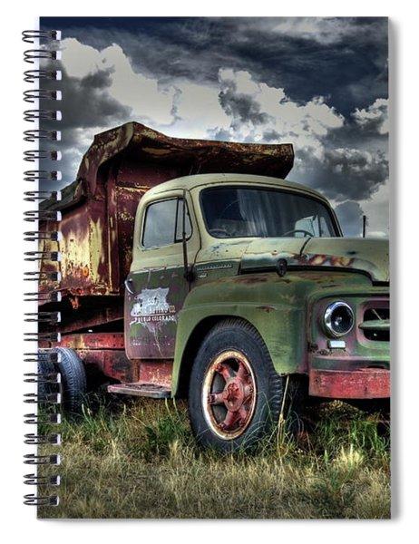 Old International #2 Spiral Notebook