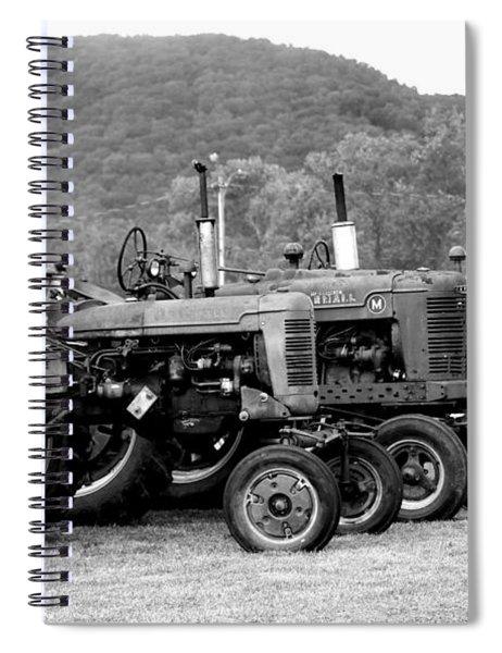 Old Iron Spiral Notebook