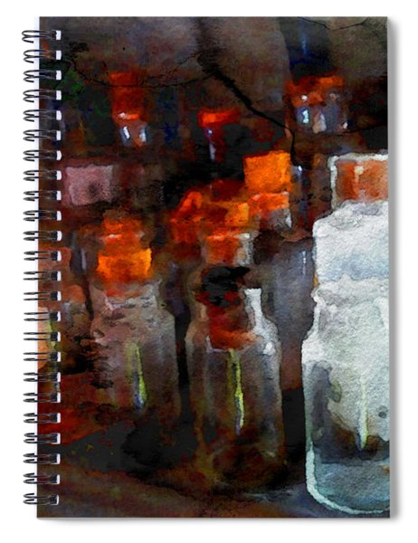 Old Jars Spiral Notebook