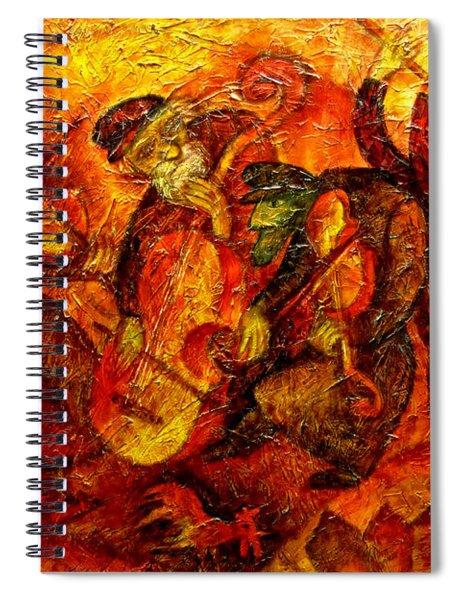 Old Klezmer Band Spiral Notebook