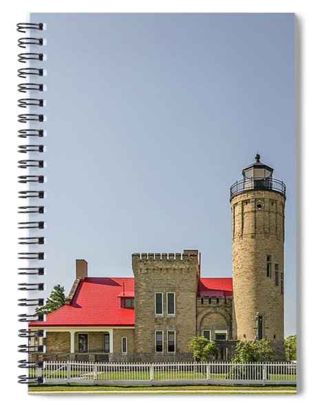 Old Mackinac Point Lighthouse Spiral Notebook