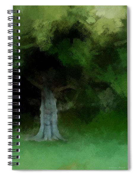 Old Magnolia Tree Spiral Notebook