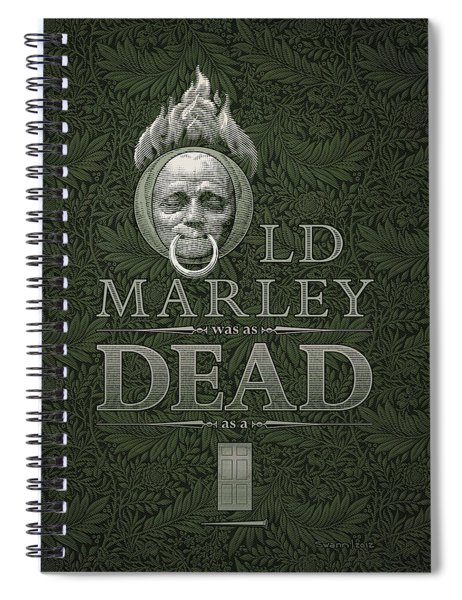 Old Marley Spiral Notebook