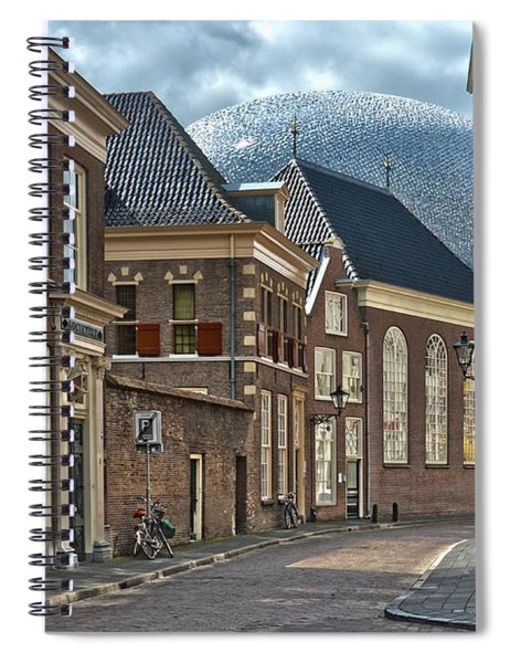 Old Meets New In Zwolle Spiral Notebook