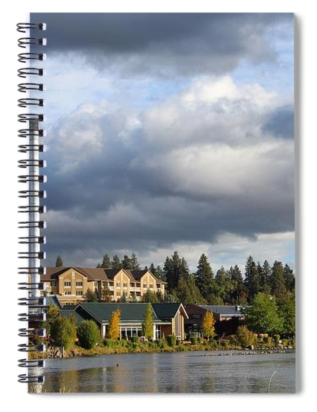 Old Mill District Spiral Notebook