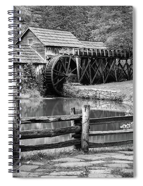 Old Mountain Morning Spiral Notebook