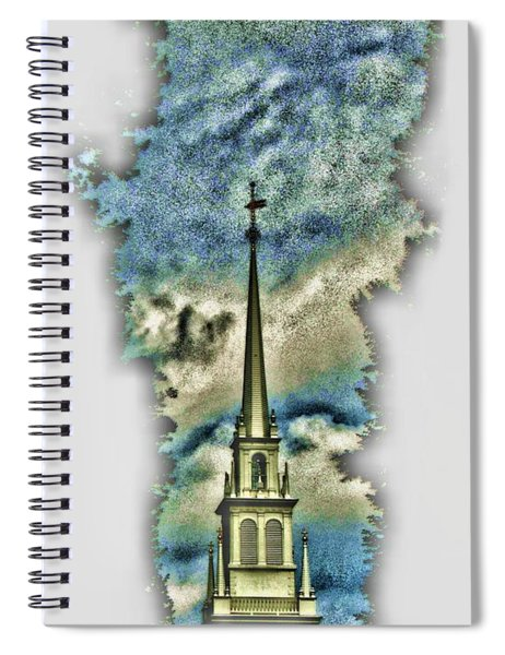 Old North Church Steeple Spiral Notebook