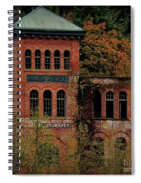 Old Olympia Brewery Spiral Notebook