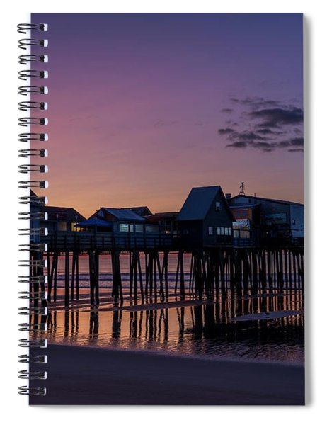 Old Orchard Beach  Spiral Notebook