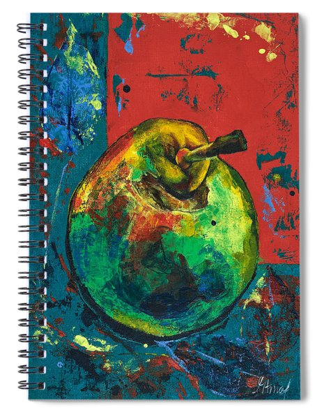 Old Pear Spiral Notebook