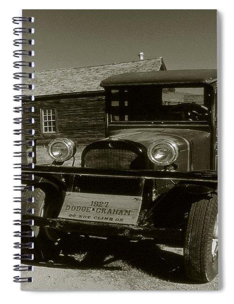 Old Pickup Truck 1927 - Vintage Photo Art Print Spiral Notebook