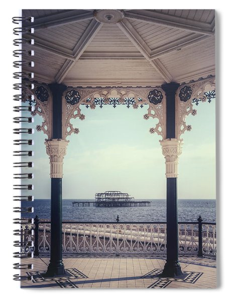 old pier Brighton Spiral Notebook