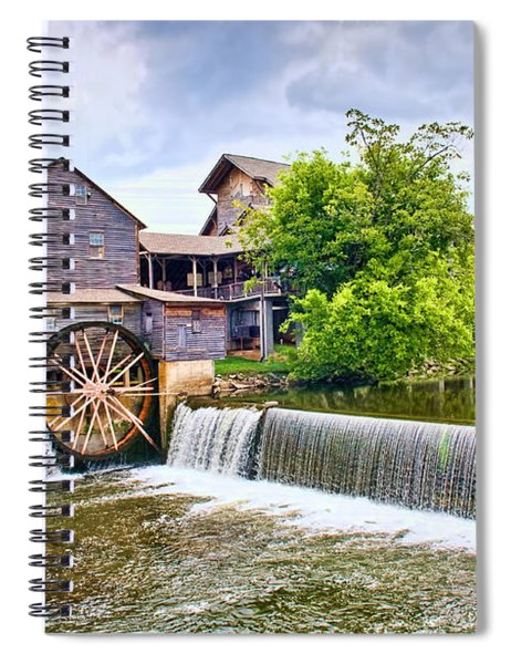 Old Pigeon Forge Mill Spiral Notebook