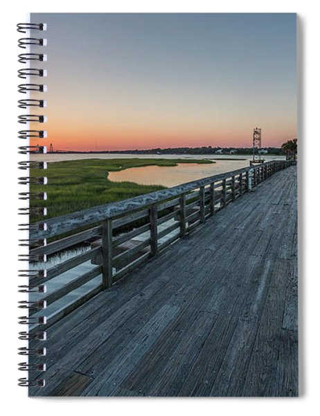 Old Pitt Street Bridge  Spiral Notebook