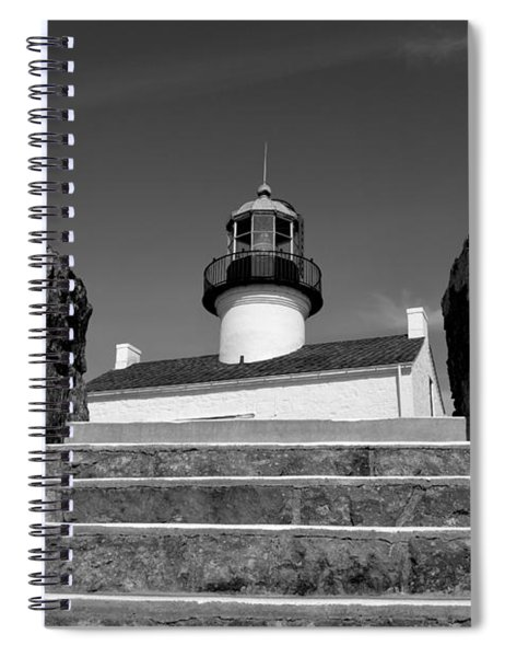 Old Point Loma Lighthouse - From The Stairwell  Spiral Notebook