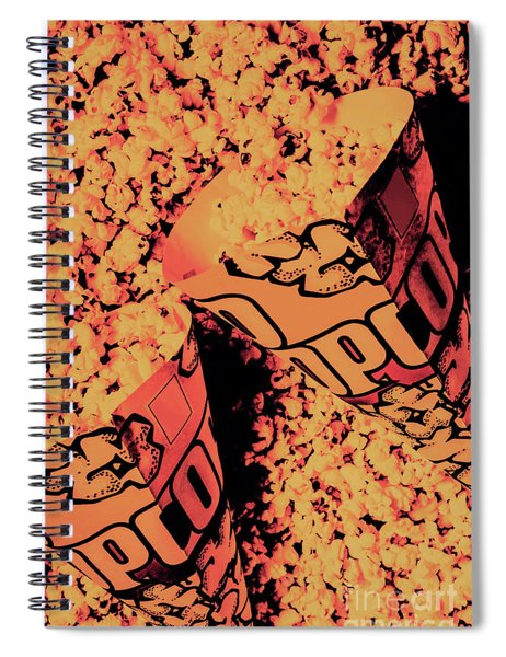 Old Pop Corn Culture Spiral Notebook