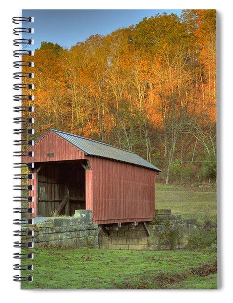 Old Red Or Walkersville Covered Bridge Spiral Notebook