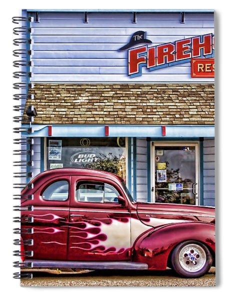 Old Roadster - Red Spiral Notebook