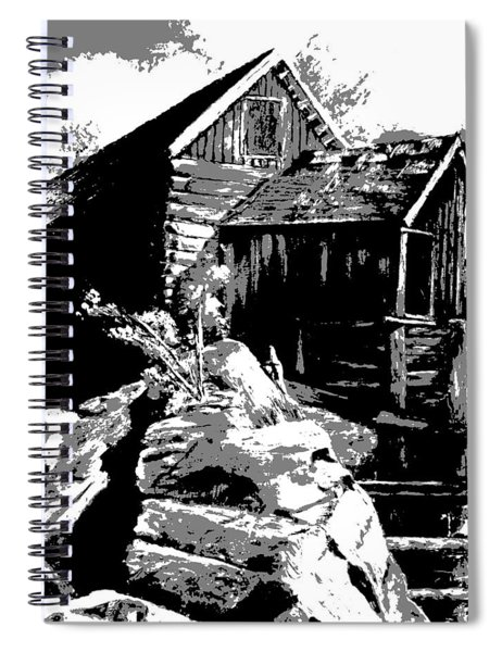 Old Rocky Mill Spiral Notebook
