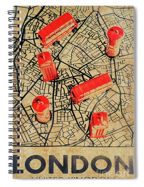 Old Routemaster Way Spiral Notebook