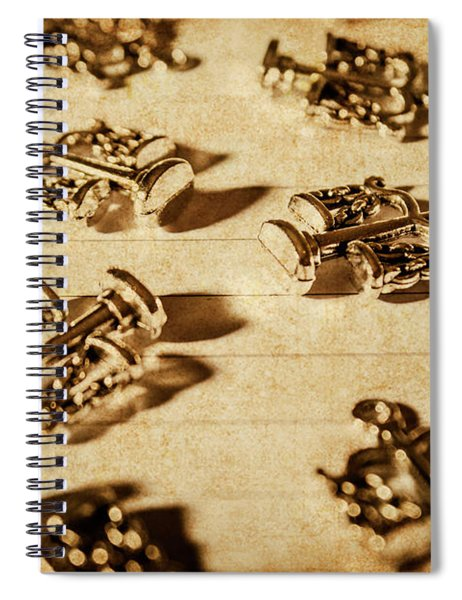 Old Rule Of Law Spiral Notebook