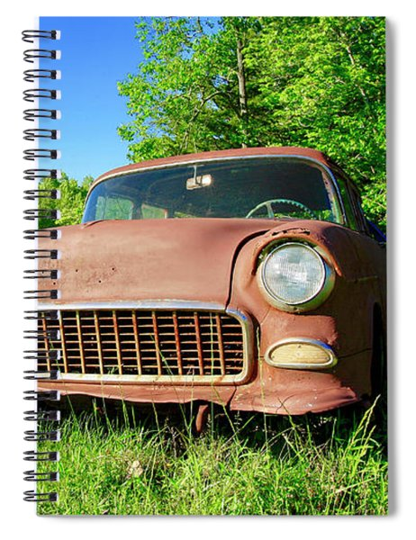 Old Rusty Car Spiral Notebook