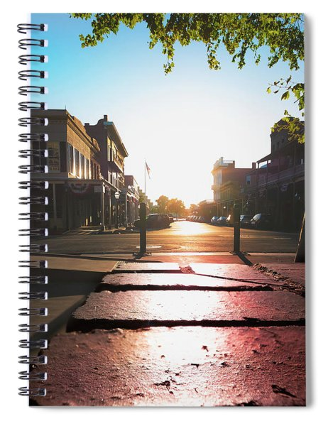Old Sacramento Smiles- Spiral Notebook