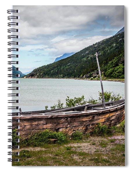 Old Sailboat Spiral Notebook