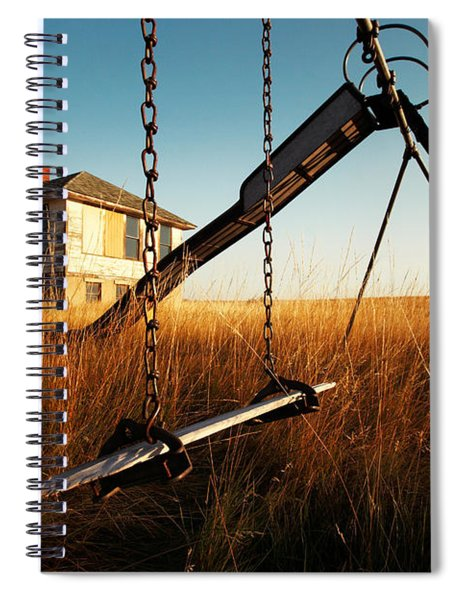 Old Savoy Schoolhouse Spiral Notebook