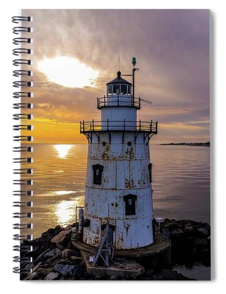 Old Saybrook Outer Light Spiral Notebook