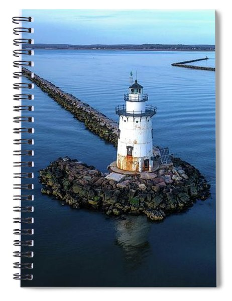 Old Saybrook Outer Lighthouse Spiral Notebook