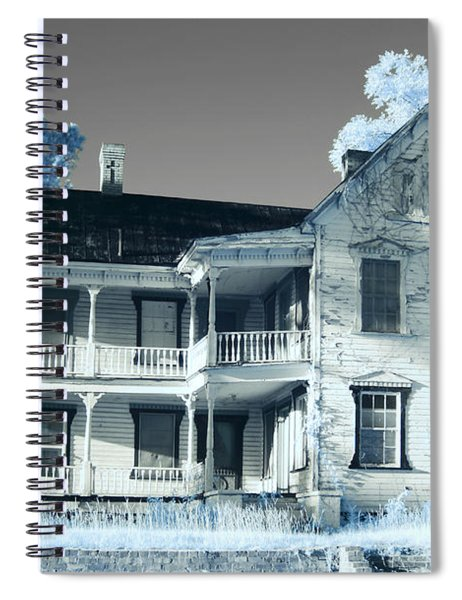 Old Shull House In 642 Spiral Notebook