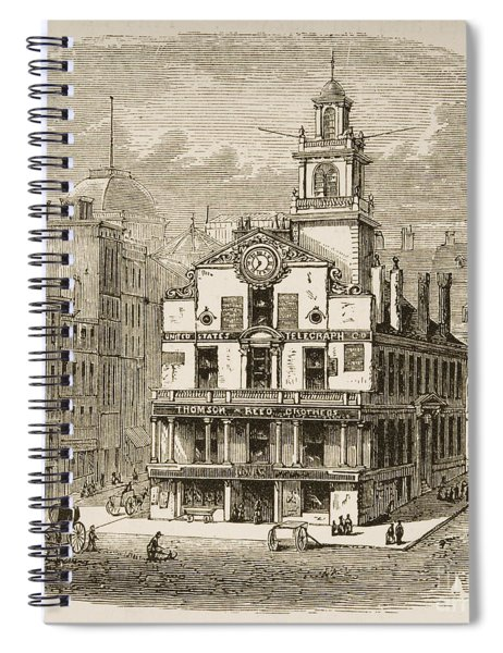 Old State House, Boston Spiral Notebook