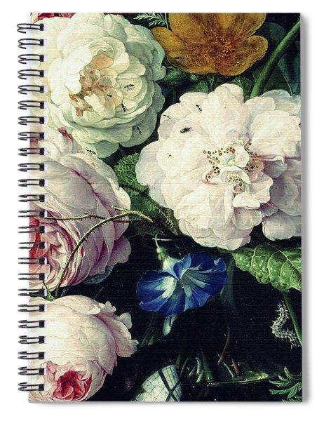 Old Time Botanical Spiral Notebook