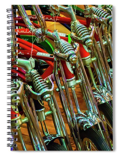 Old Time Cool Spiral Notebook