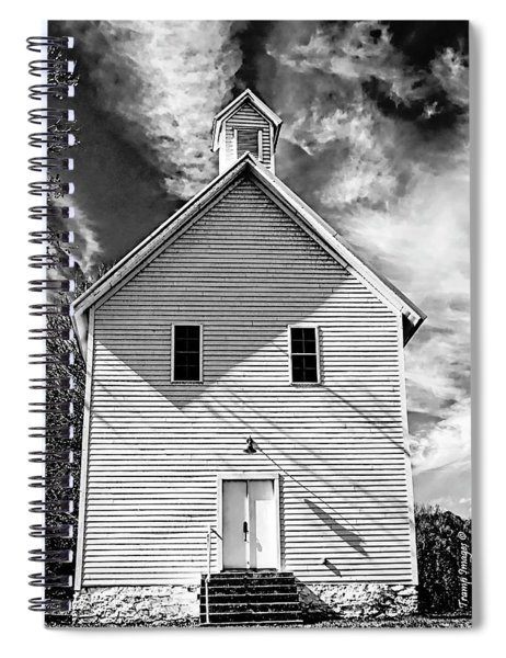 Old Time Sunday Spiral Notebook