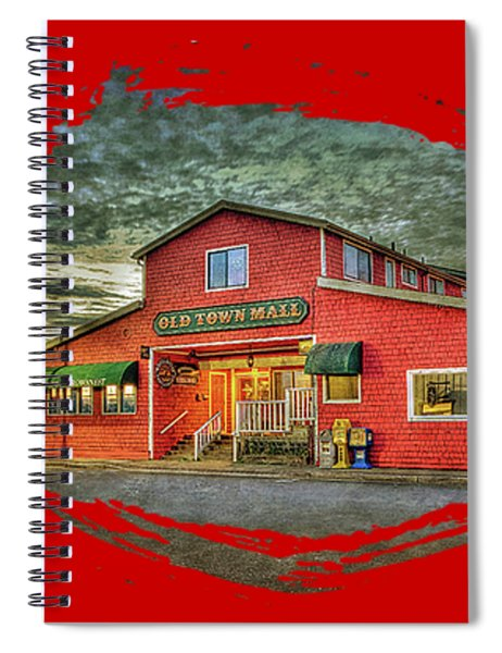 Old Town Mall Bandon Spiral Notebook