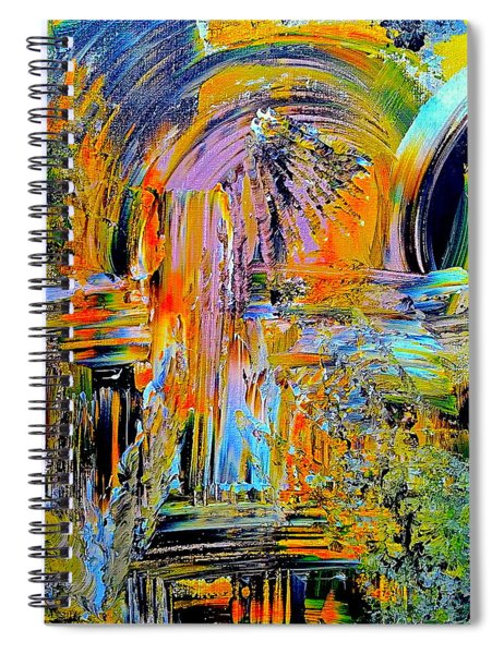 Old Town Of Nice 2 Of 3 Spiral Notebook