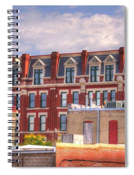 Old Town Wichita Kansas Spiral Notebook