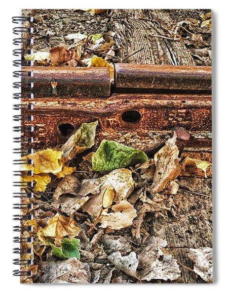 Old Tracks Spiral Notebook