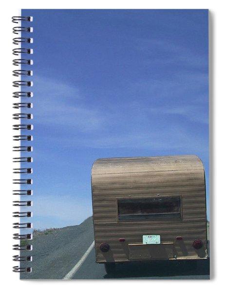 Old Trailer Spiral Notebook