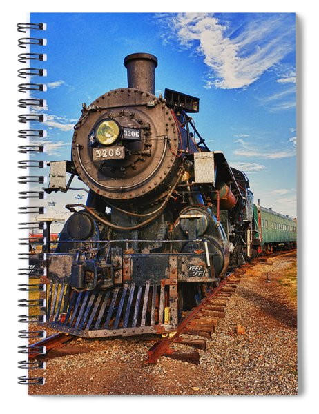 Old Train Spiral Notebook