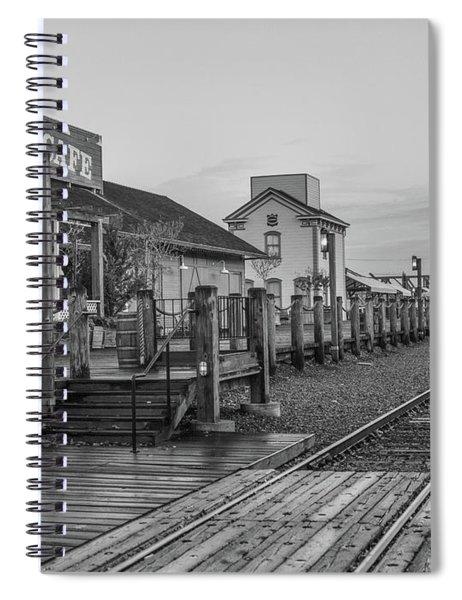 Old Train Station Spiral Notebook