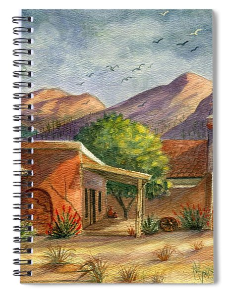Old Tucson Spiral Notebook