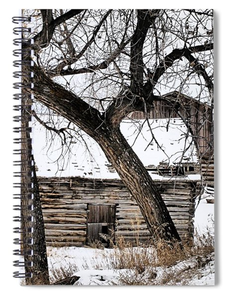 Old Ulm Barn Spiral Notebook