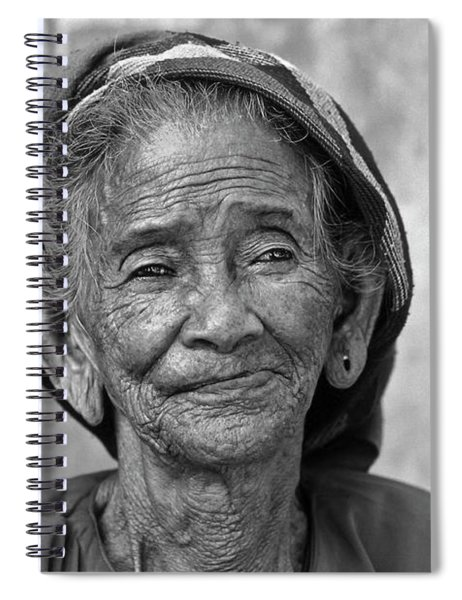 Old Vietnamese Woman Spiral Notebook