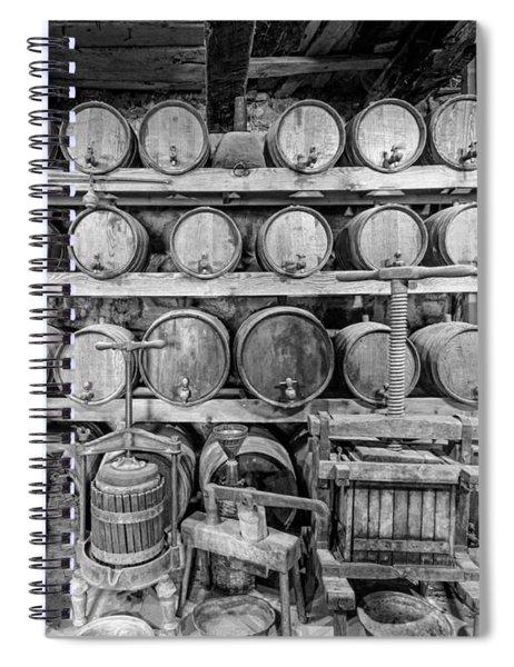 Old Wine Cellar 5 Spiral Notebook