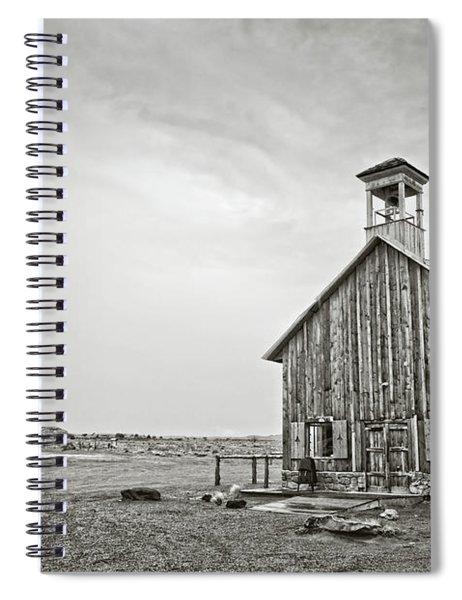 Old Wooden Church Spiral Notebook