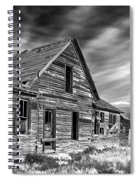 Old Wyoming Farm House Spiral Notebook