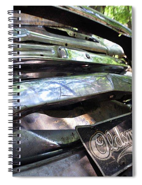 Oldsmobile Bumper Detail Spiral Notebook